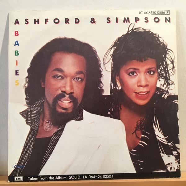 ☆Ashford & Simpson/Babies☆MELLOW 80s BOOGIE!7inch 45_画像1