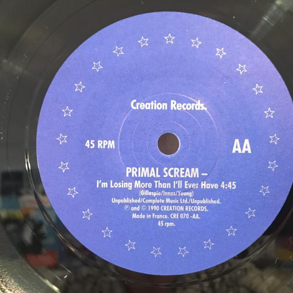 ☆Primal Scream/Loaded☆MADCHESTER名曲!ANDREW WEATHERALL 7inch 45_画像3