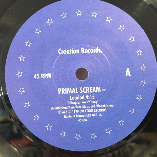 ☆Primal Scream/Loaded☆MADCHESTER名曲!ANDREW WEATHERALL 7inch 45_画像2
