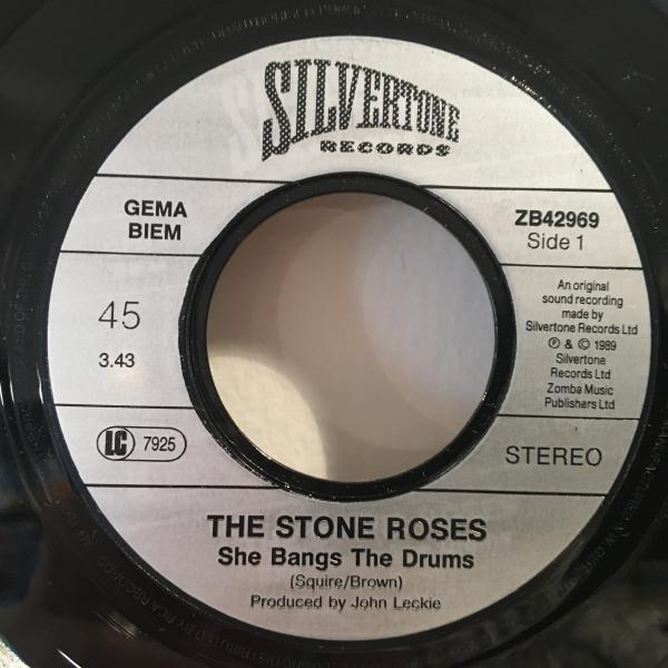 ☆The Stone Roses/She Bangs The Drums☆名曲!7inch 45_画像2