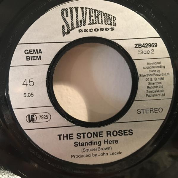☆The Stone Roses/She Bangs The Drums☆名曲!7inch 45_画像3
