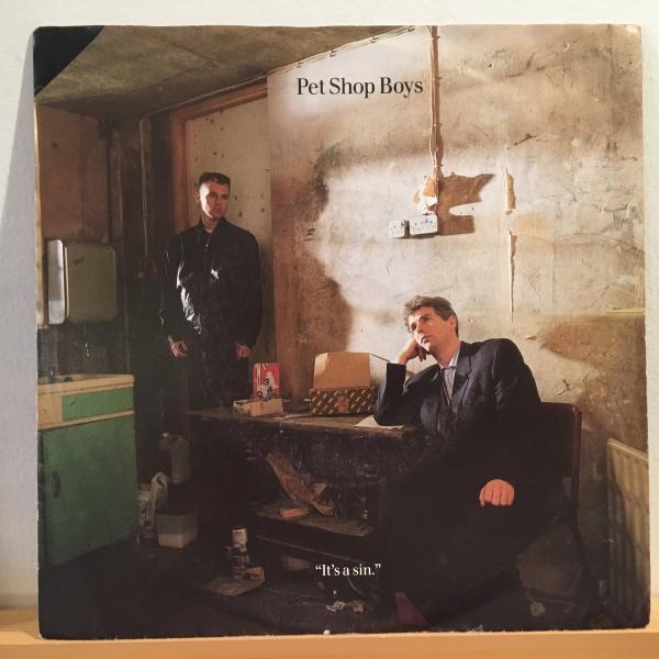 ☆Pet Shop Boys/It's A Sin☆SYNTH POPクラシック!7inch 45_画像1