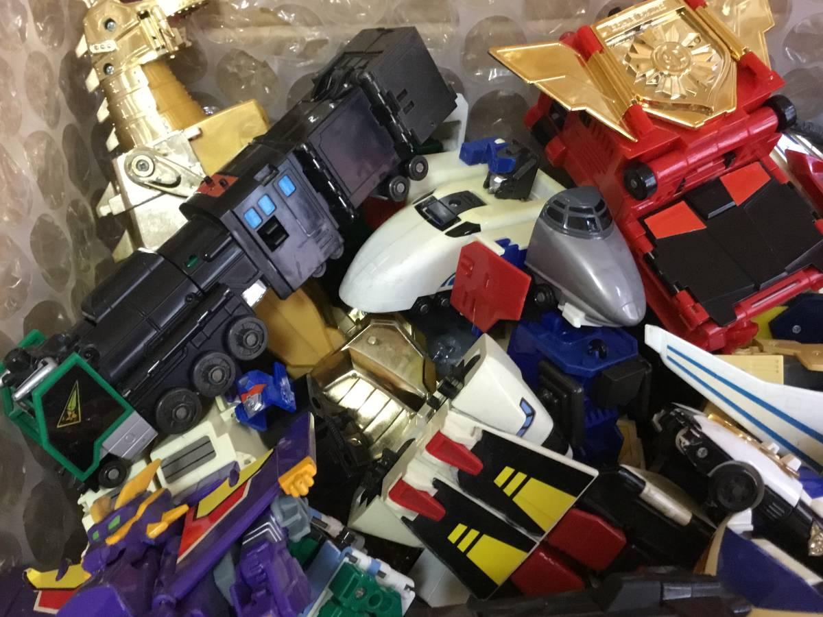 勇者 DX ロボット 全て グレート合体 レア おもちゃ 変形 検 超合金 戦隊 transformers ダ ガーン ダグオン ジェイデッカー タカラ 机器人_画像4