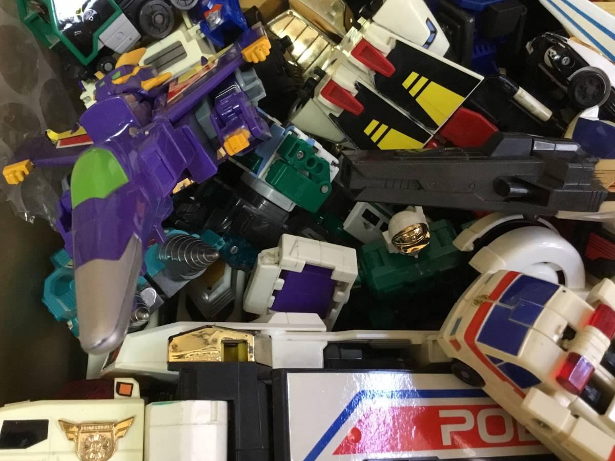 勇者 DX ロボット 全て グレート合体 レア おもちゃ 変形 検 超合金 戦隊 transformers ダ ガーン ダグオン ジェイデッカー タカラ 机器人_画像6