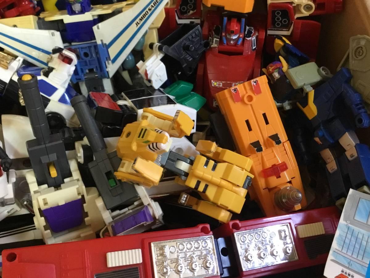 勇者 DX ロボット 全て グレート合体 レア おもちゃ 変形 検 超合金 戦隊 transformers ダ ガーン ダグオン ジェイデッカー タカラ 机器人_画像5