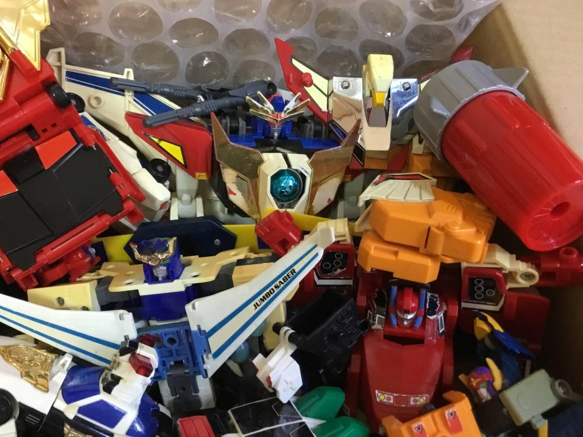 勇者 DX ロボット 全て グレート合体 レア おもちゃ 変形 検 超合金 戦隊 transformers ダ ガーン ダグオン ジェイデッカー タカラ 机器人_画像3