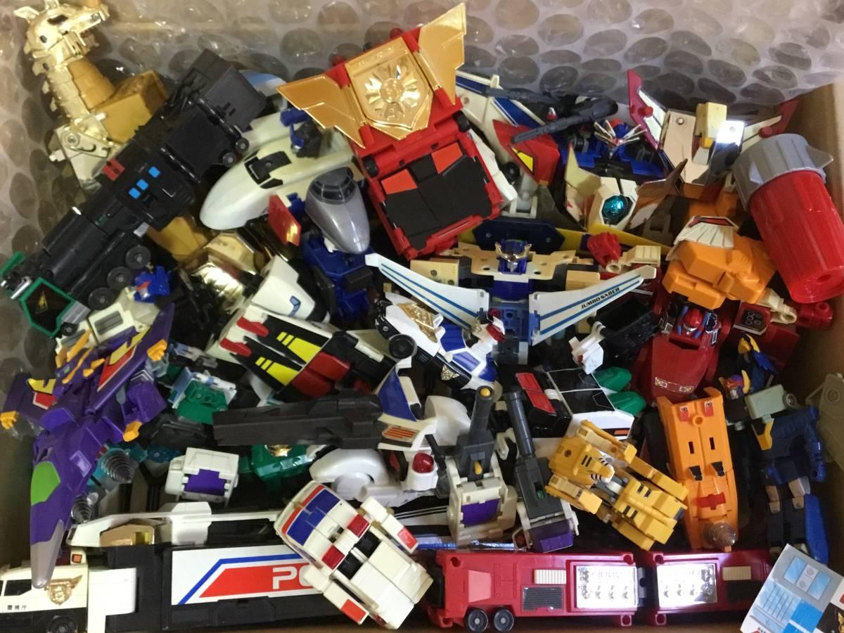 勇者 DX ロボット 全て グレート合体 レア おもちゃ 変形 検 超合金 戦隊 transformers ダ ガーン ダグオン ジェイデッカー タカラ 机器人_画像2