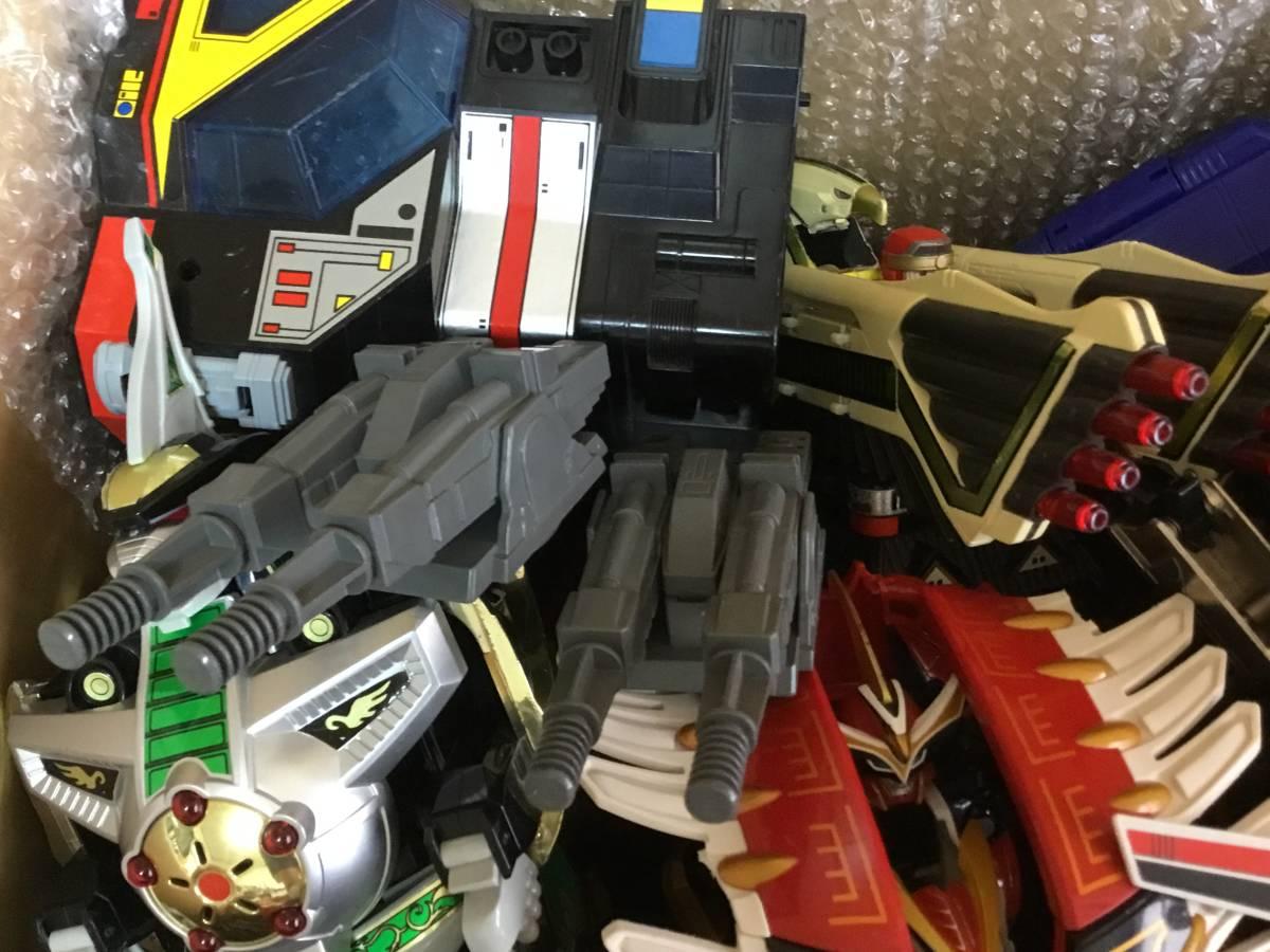 DX ロボット 全て スーパー戦隊 合体 おもちゃ BANDAI 特撮 フィギュア 検 超合金 戦隊 ロボ transformers ダ ガーン ライブロボ 机器人_画像5