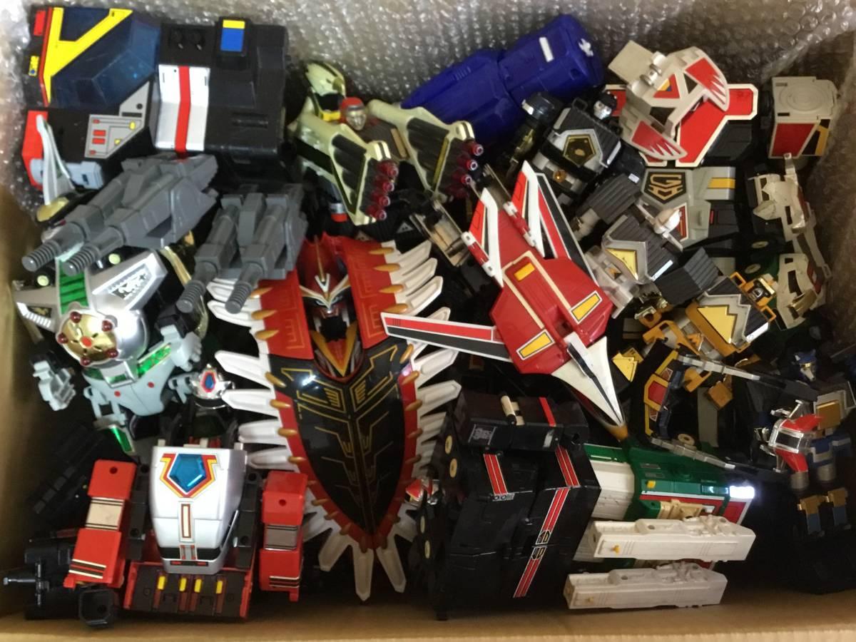 DX ロボット 全て スーパー戦隊 合体 おもちゃ BANDAI 特撮 フィギュア 検 超合金 戦隊 ロボ transformers ダ ガーン ライブロボ 机器人