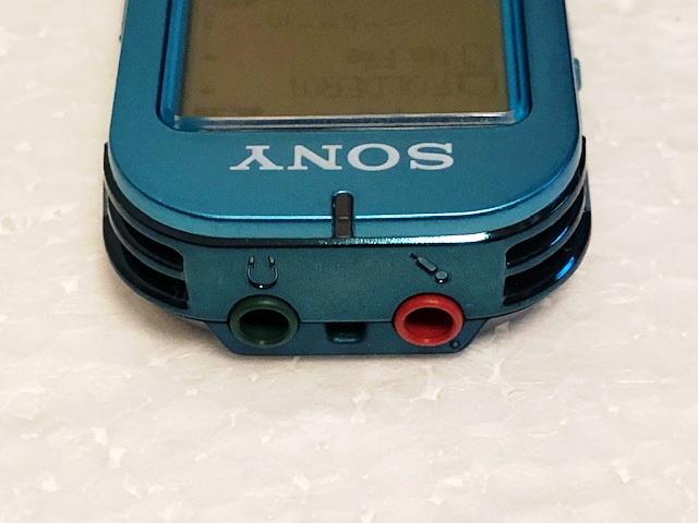 ソニー ステレオICレコーダー ICD-UX523 リニアPCM 内臓4GB 語学学習等に 美品_画像7