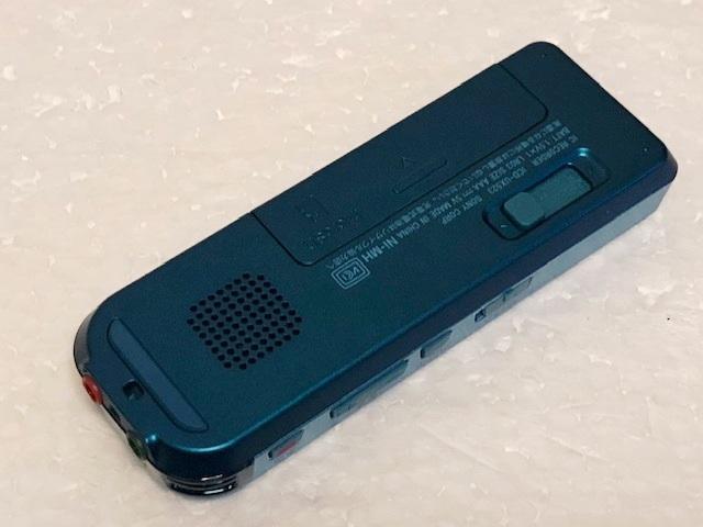 ソニー ステレオICレコーダー ICD-UX523 リニアPCM 内臓4GB 語学学習等に 美品_画像9