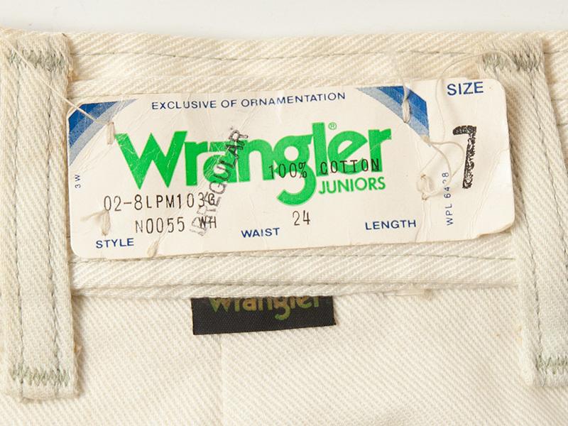 1970年代 デッドストック ラングラー ジュニアジーンズ アメリカ製 WRANGLER USA製_画像4