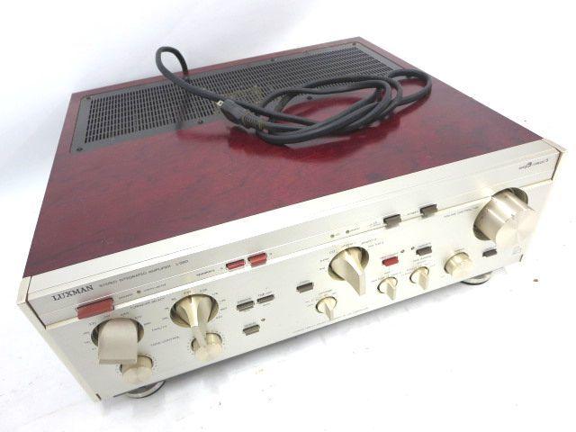 LUXMAN ラックスマン プリメインアンプ L-560 オーディオ 音響 機材 通電確認 008050-3 y16y