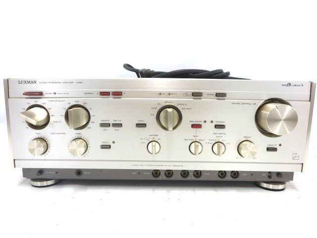 LUXMAN ラックスマン プリメインアンプ L-560 オーディオ 音響 機材 通電確認 008050-3 y16y _画像2