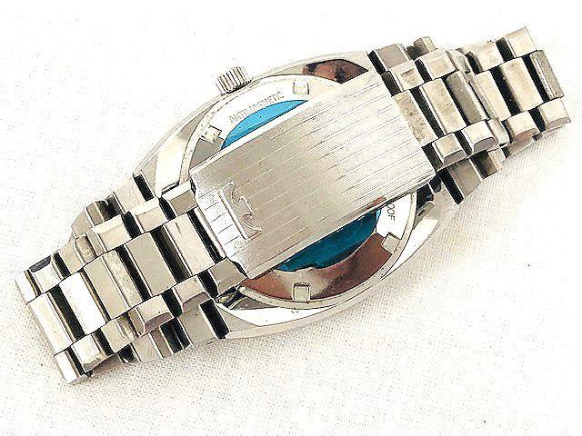 【希少レア】 TECHNOS テクノス CONDOR メンズ腕時計 自動巻き 3針/デイト アンティーク 稼動品 008201-1 m16-22y_画像6