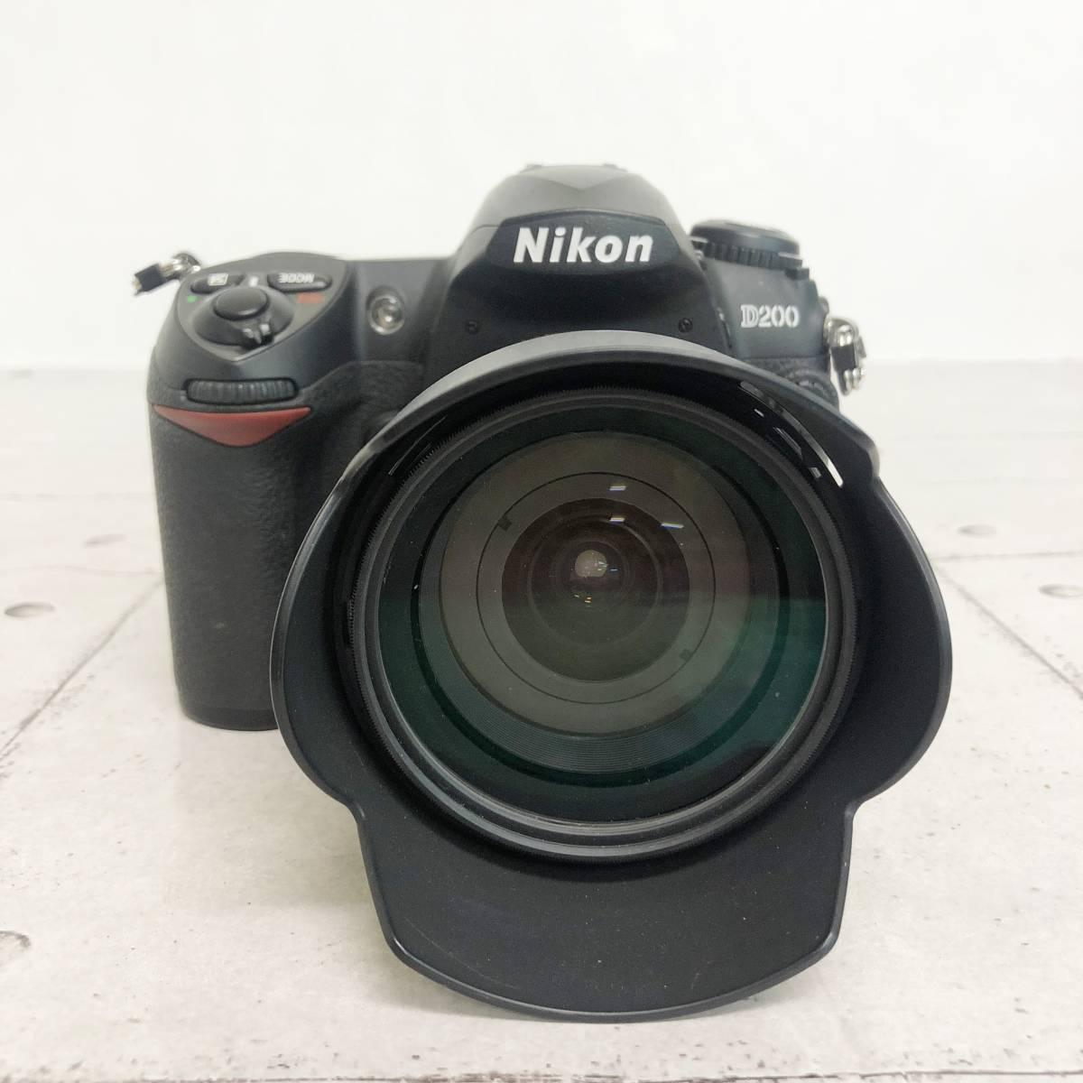 ニコン カメラ D200 AF-S NIKKOR 18‐70㎜ 1:3.5-4.5G 動作未確認 ジャンク品_画像2