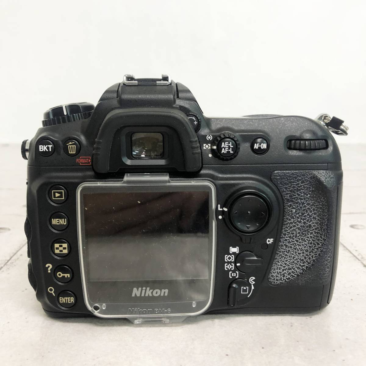 ニコン カメラ D200 AF-S NIKKOR 18‐70㎜ 1:3.5-4.5G 動作未確認 ジャンク品_画像4