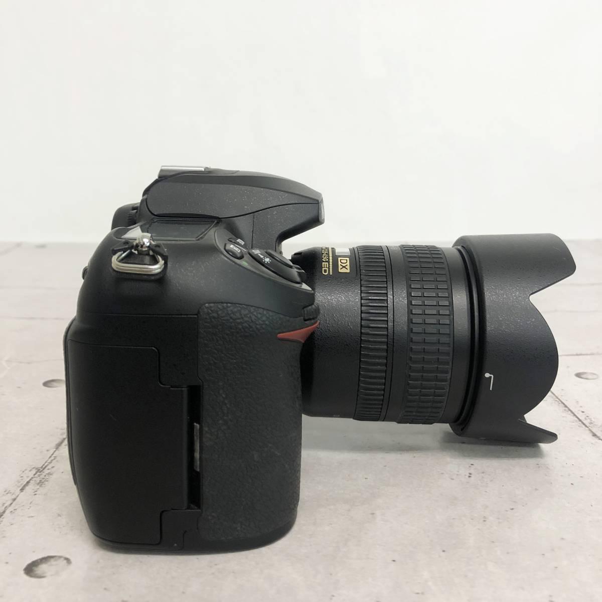 ニコン カメラ D200 AF-S NIKKOR 18‐70㎜ 1:3.5-4.5G 動作未確認 ジャンク品_画像6