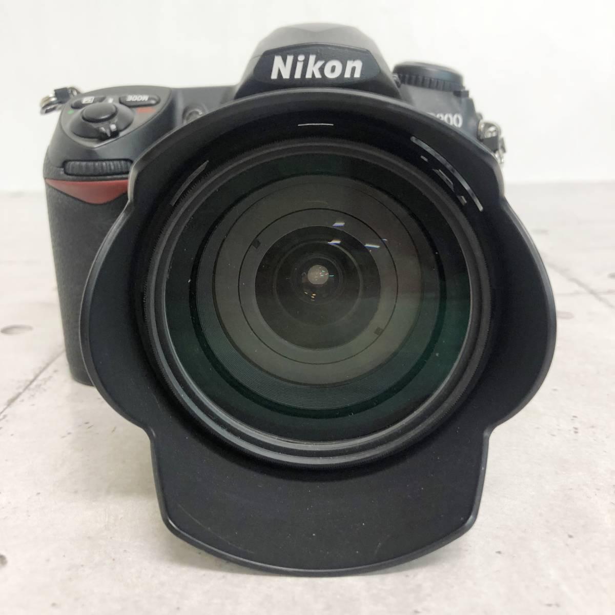 ニコン カメラ D200 AF-S NIKKOR 18‐70㎜ 1:3.5-4.5G 動作未確認 ジャンク品_画像8