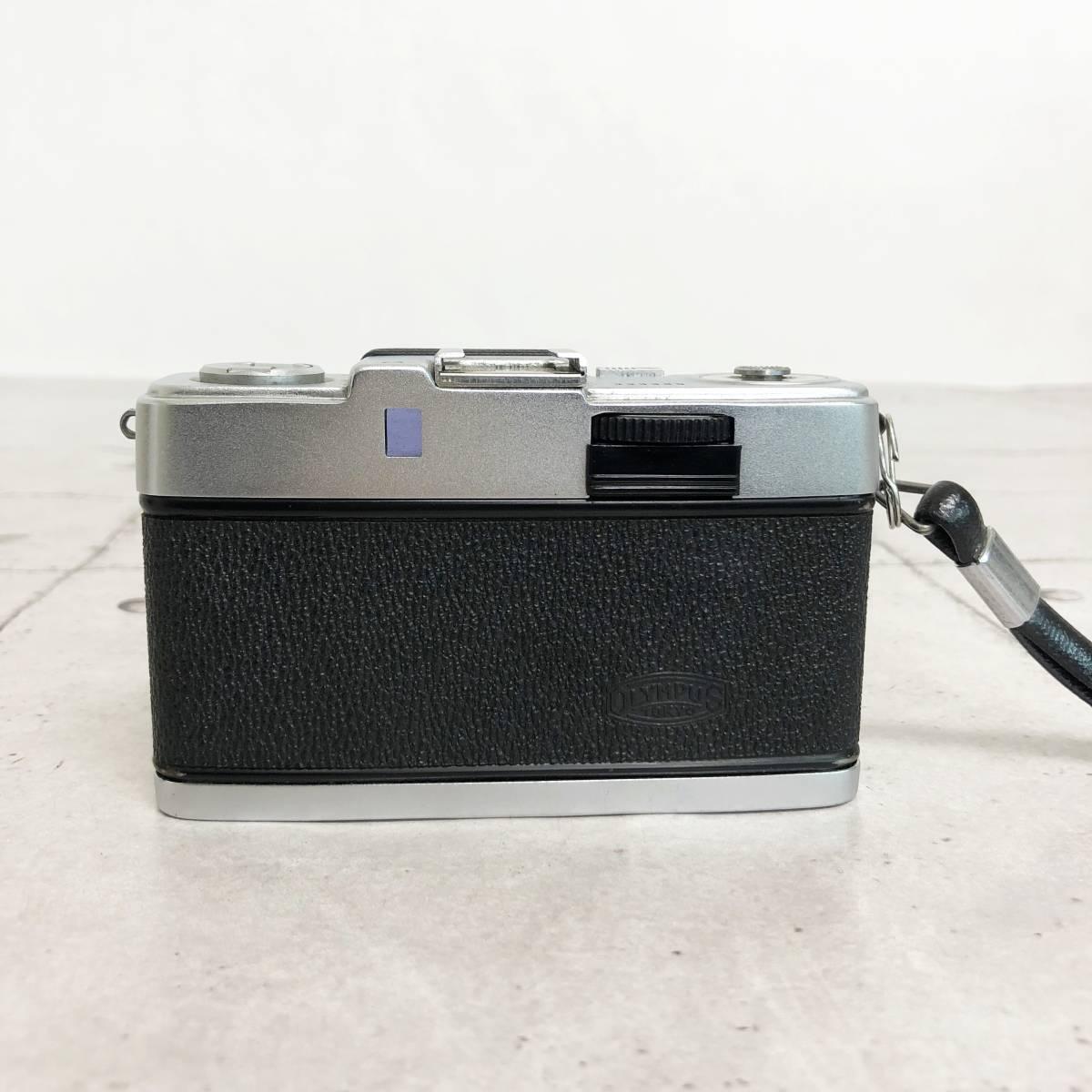 オリンパス PEN-S カメラ D.Zuiko 1:2.8 f=3cm 説明証 ケース 箱付 動作未確認 ジャンク品_画像4