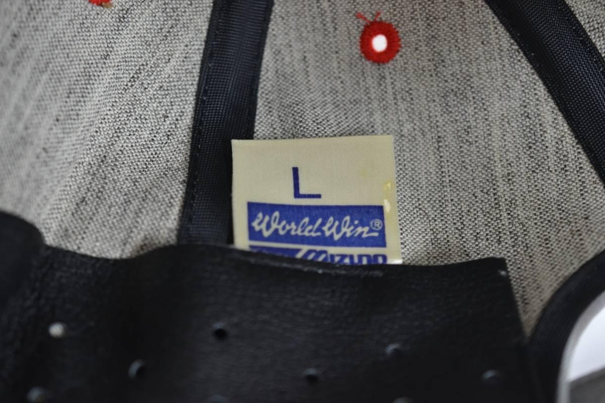 超希少 広島東洋 カープ 実使用品 1990年 キャッチフレーズ キャップ STRIKING AVNEW 山本浩二監督 直筆サイン mizuno 非売品 帽子 激レア_画像7