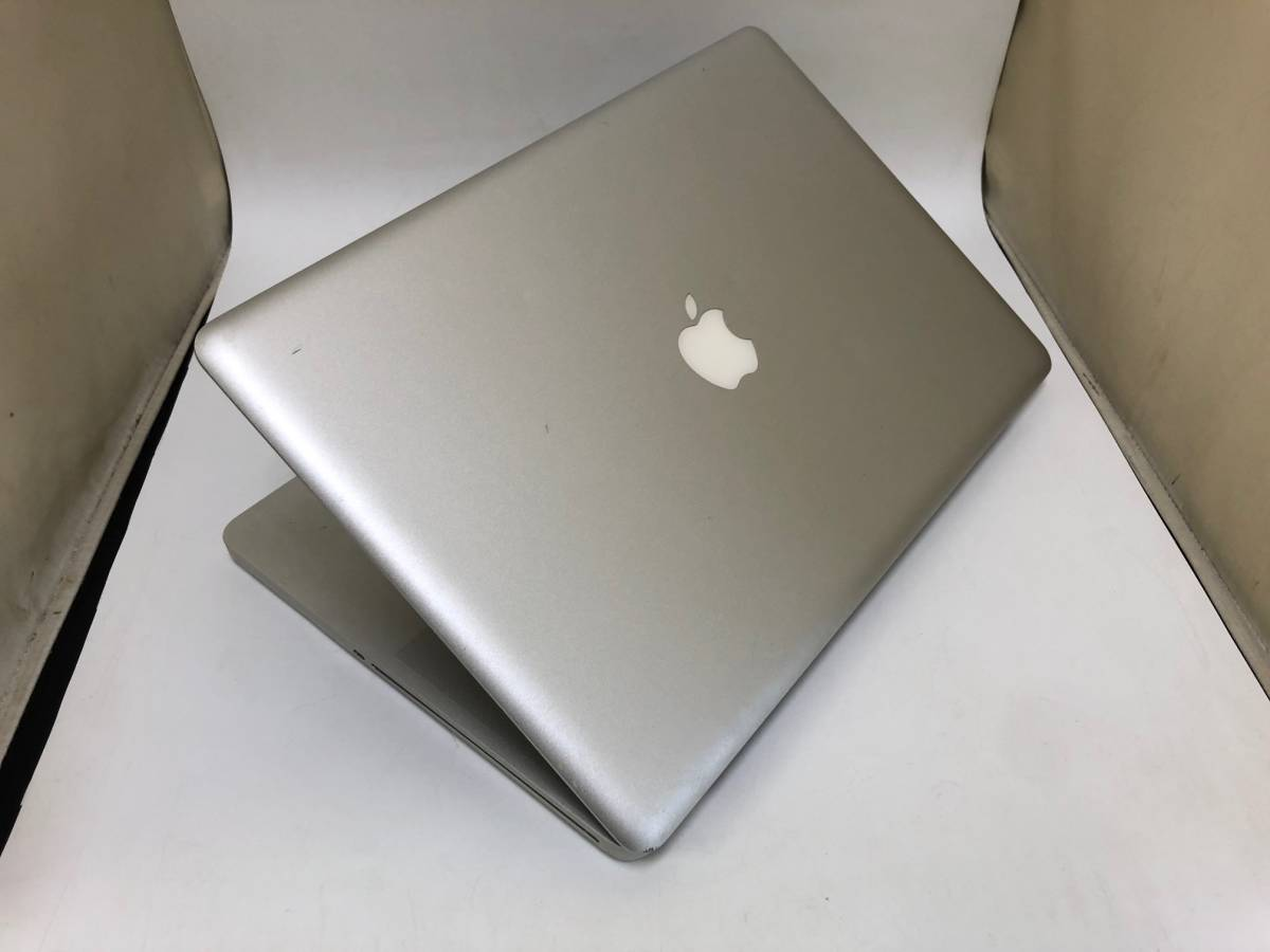 1267 Apple MacBook Pro Late2011 15.4インチ MD322J/A CPU Core i7 2.4GHz メモリ 4GB HDD 750GB ジャンク_画像2