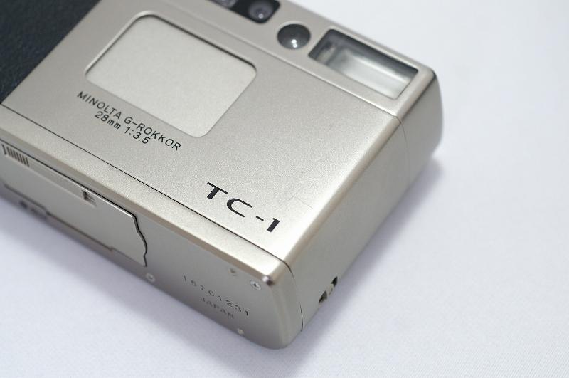 MINOLTA TC-1 ミノルタ フィルム カメラ おまけ付 35mm 高級コンパクト 検) CONTAX T3 T2 GR1 28Ti 35Ti ローライ 35 _画像4
