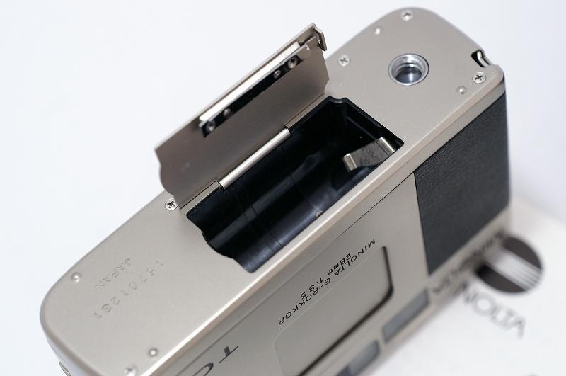 MINOLTA TC-1 ミノルタ フィルム カメラ おまけ付 35mm 高級コンパクト 検) CONTAX T3 T2 GR1 28Ti 35Ti ローライ 35 _画像5