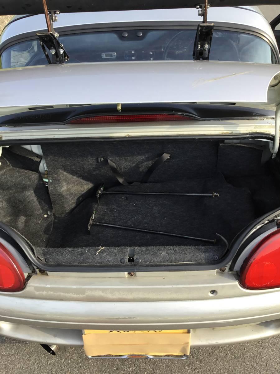 個人 カプチーノ H4 5速 LSD 車高調 メタルヘッドガスケット3つ共に新品取り付け半年 車検長 2オーナー_画像8