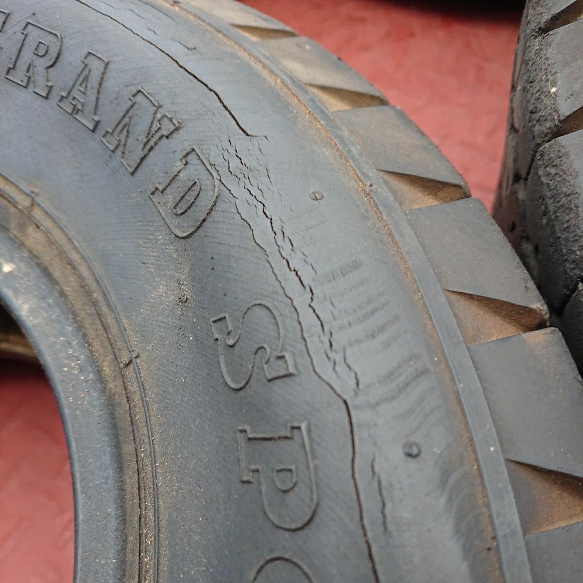 ダンロップ G5 4本セット 520-10 中古タイヤ ローバーミニ_画像2