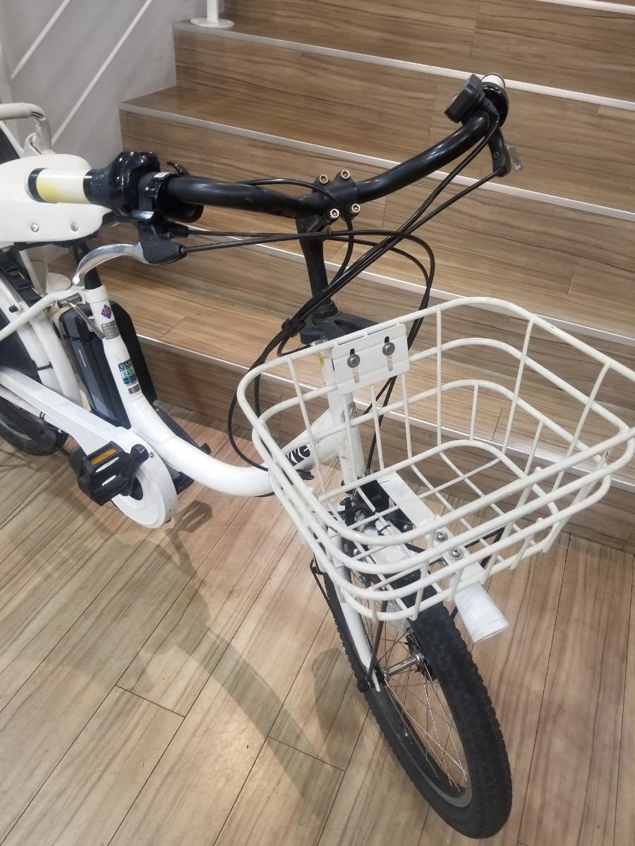 bikke ビッケ 電動車 チャイルドシート付 3段ギア付_画像3