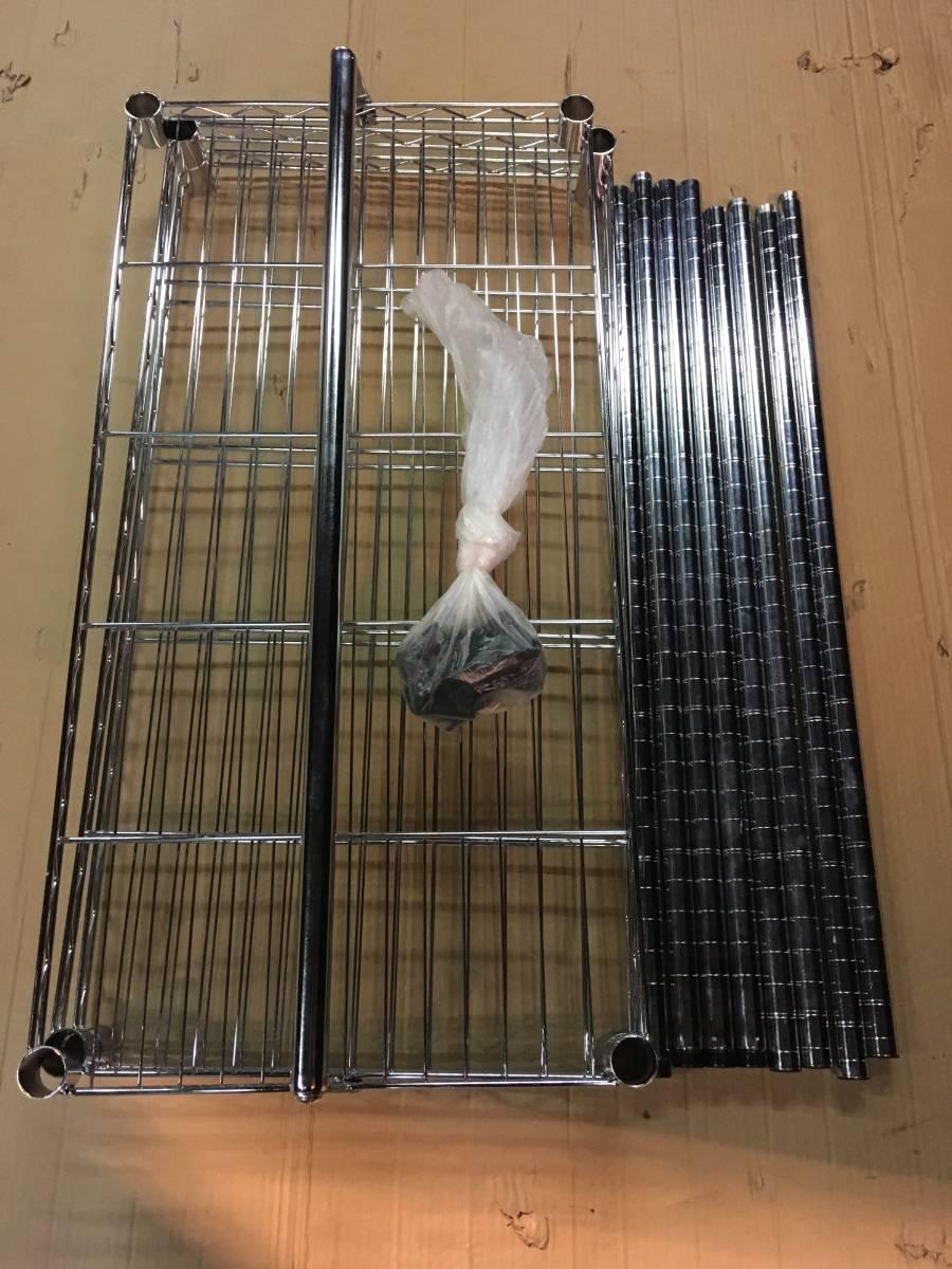 ラック 棚 収納 業務用 キャビネット 3段 バーゲン 美品 _画像5
