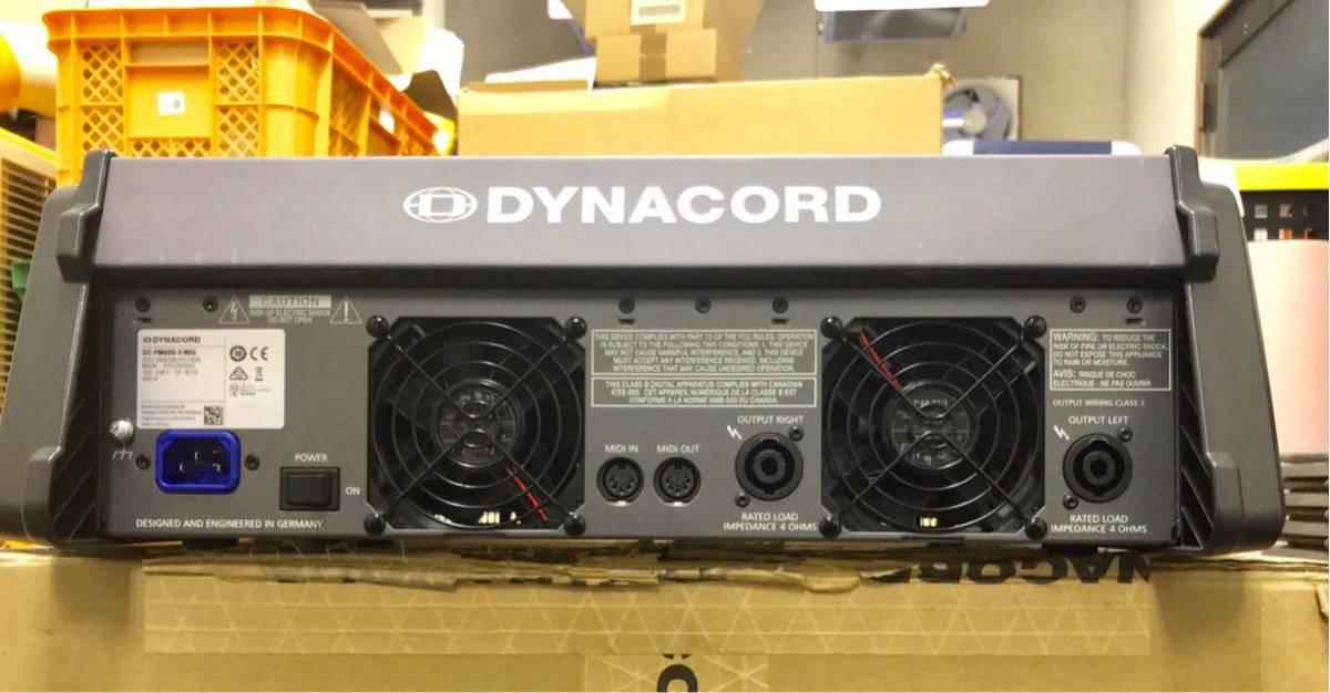 ダイナコード ハワードミキサー Dynacord Powermate 600-3 中古美品_画像4