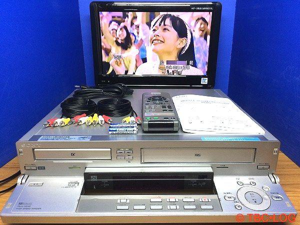 ★SONY miniDV/DV VHS ビデオカセットレコーダー WV-DR5 ★対応リモコン付き★動作良好★