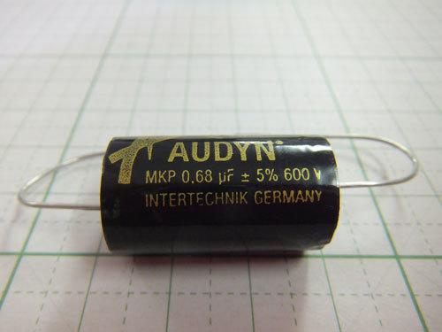 オーディンキャップフィルムコンデンサー630V QS-0.68μF(1個) 自作スピーカー クロネコDM便対応_画像1