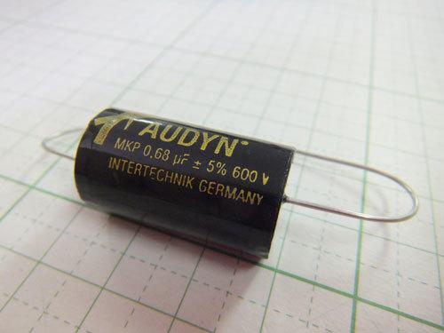 オーディンキャップフィルムコンデンサー630V QS-0.68μF(1個) 自作スピーカー クロネコDM便対応_画像2