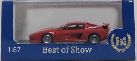 1/87 BoS Ferrari フェラーリ Koenig ケーニッヒ Testarossa テスタロッサ Red レッド (検索用:1/64 1/43 1/18 F40 512BB 512TR トミカ)_画像4