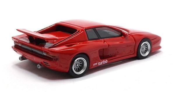 1/87 BoS Ferrari フェラーリ Koenig ケーニッヒ Testarossa テスタロッサ Red レッド (検索用:1/64 1/43 1/18 F40 512BB 512TR トミカ)_画像2