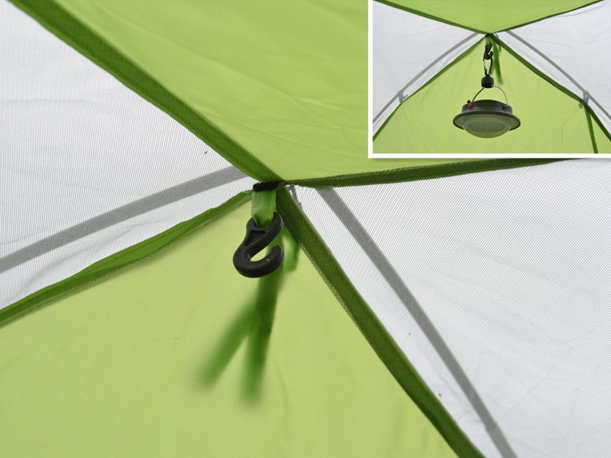 新品ワンタッチテント テント 3~4人用 設営簡単 防災用 2WAY キャンプ用品 撥水加工 紫外線防止 登山 折りたたみ 防水 通気性TT087_画像7