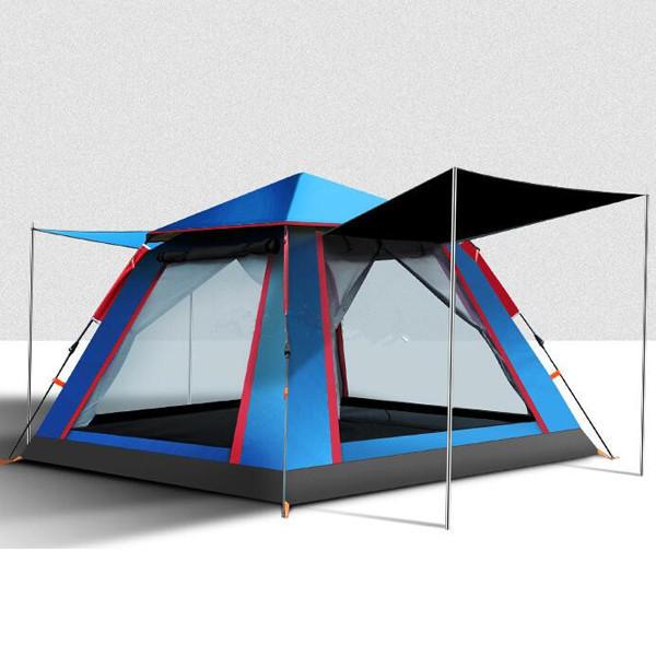 アウトドア用品 新品 人気テント!高機能テント ワンタッチテント防風 防塵 防水防虫 UVカット通気性耐久性よい 3-4人用D065