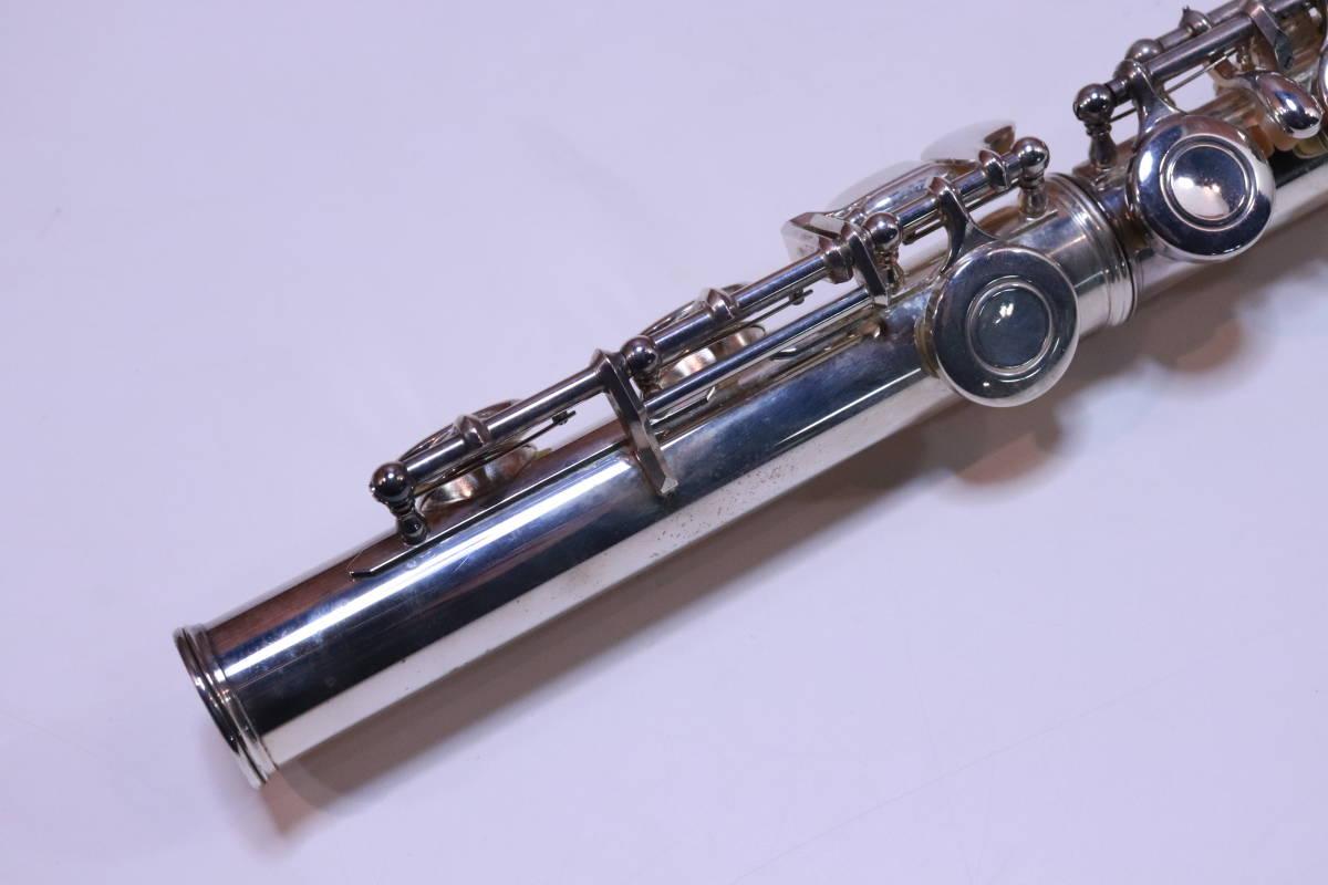 YAMAHA フルート 211S ハードケース・ソフトカバー付き 管楽器 初めての方 おすすめ■(A7354)_画像7