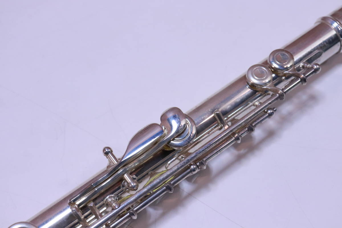 YAMAHA フルート 211S ハードケース・ソフトカバー付き 管楽器 初めての方 おすすめ■(A7354)_画像8