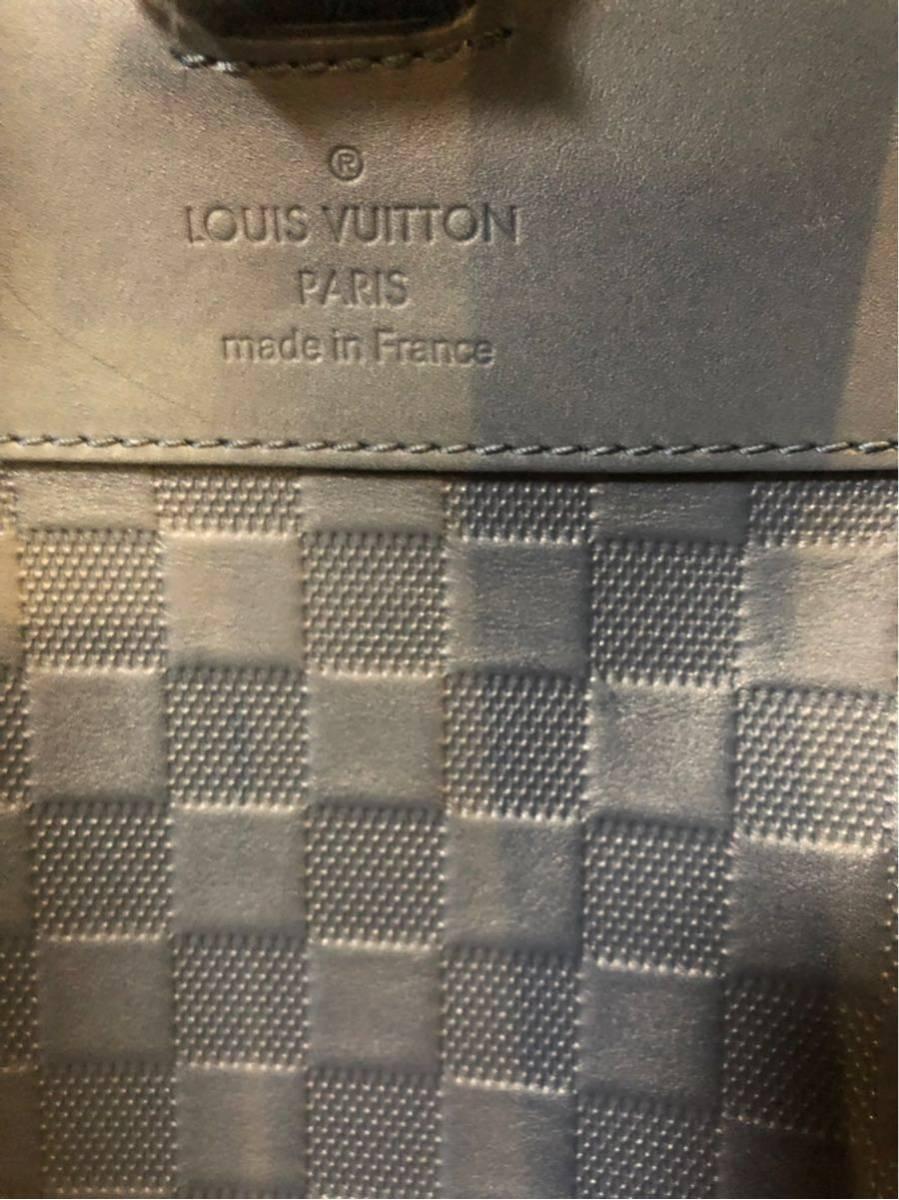 LOUIS VUITTON ルイヴィトン 2017限定品 ダミエ・アンフィニ ジョッシュ バックパック リュック ブルー系_画像7