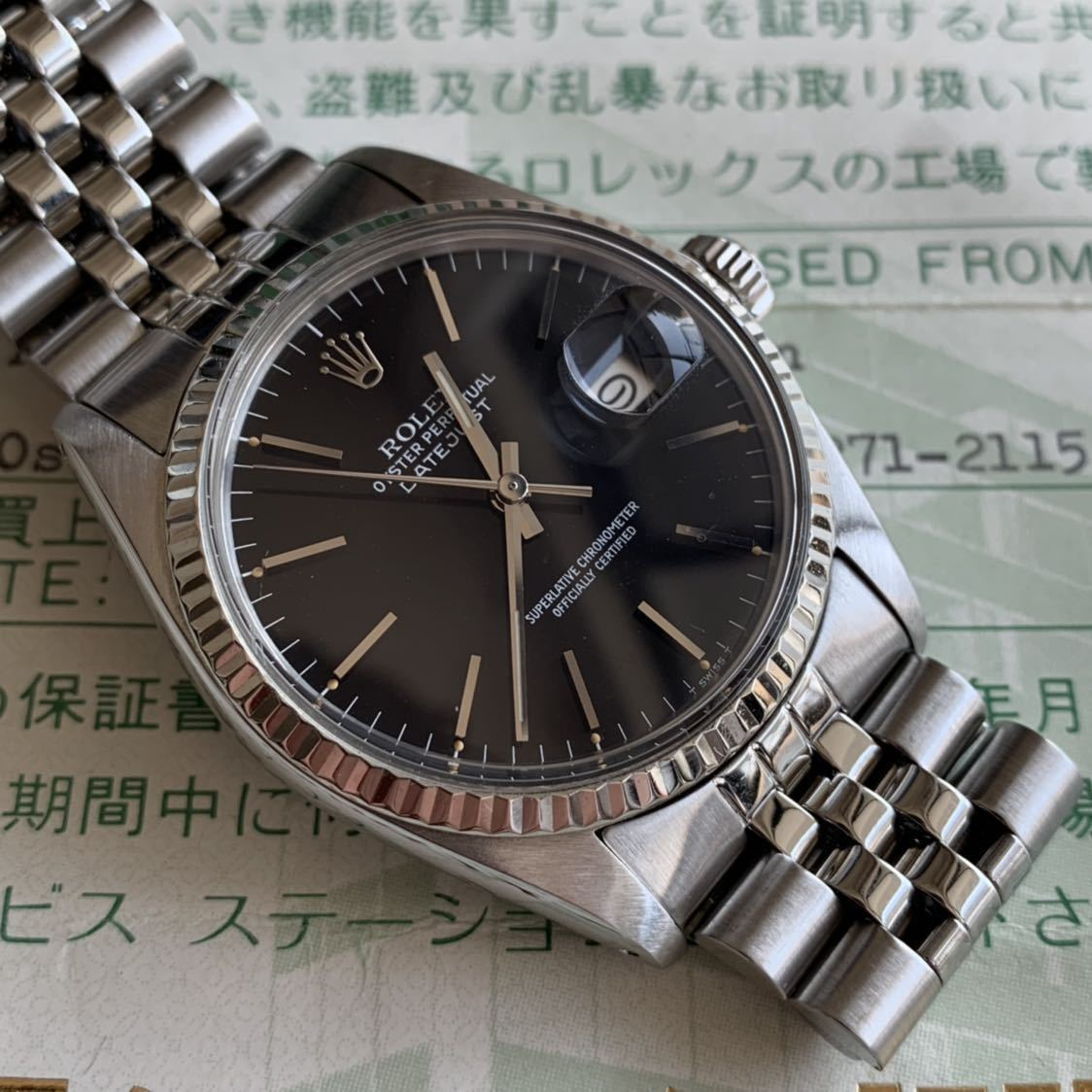outlet store 144a4 fa3cb Rolex Date Just 16014 ロレックスデイトジャスト