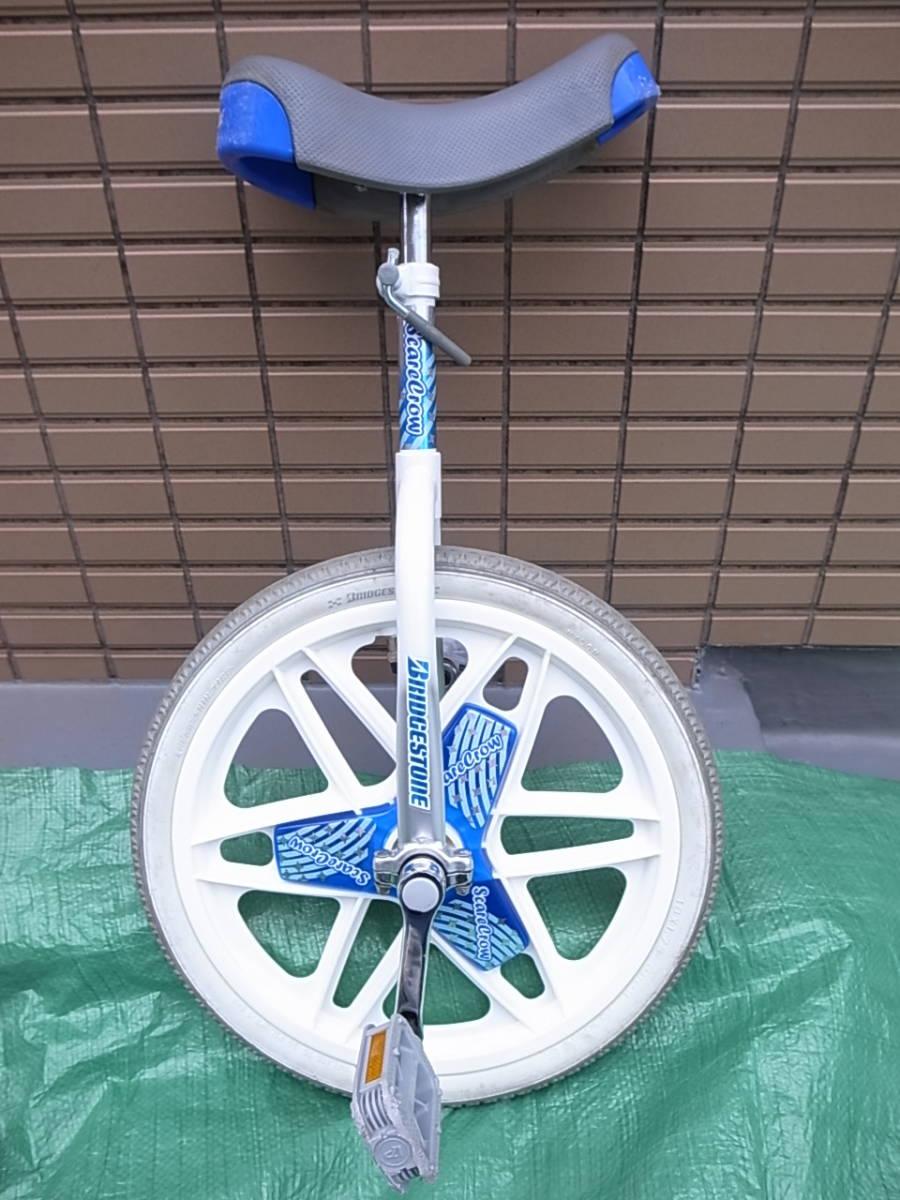 ■引き取り限定(東京)■一輪車■ブリジストン 18サイズ Newスケアクロウ SCN18 ブルー シルバー ■室内保管 子供 BRIDGESTONE 18インチ_画像3
