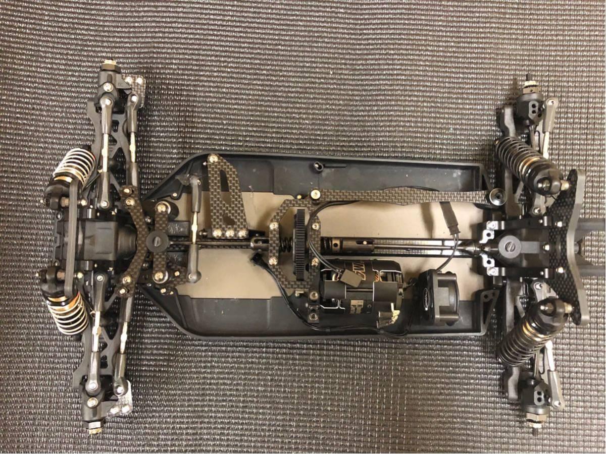 超美品 ヨコモ YZ-4 SF フルオプション品 モーター付き
