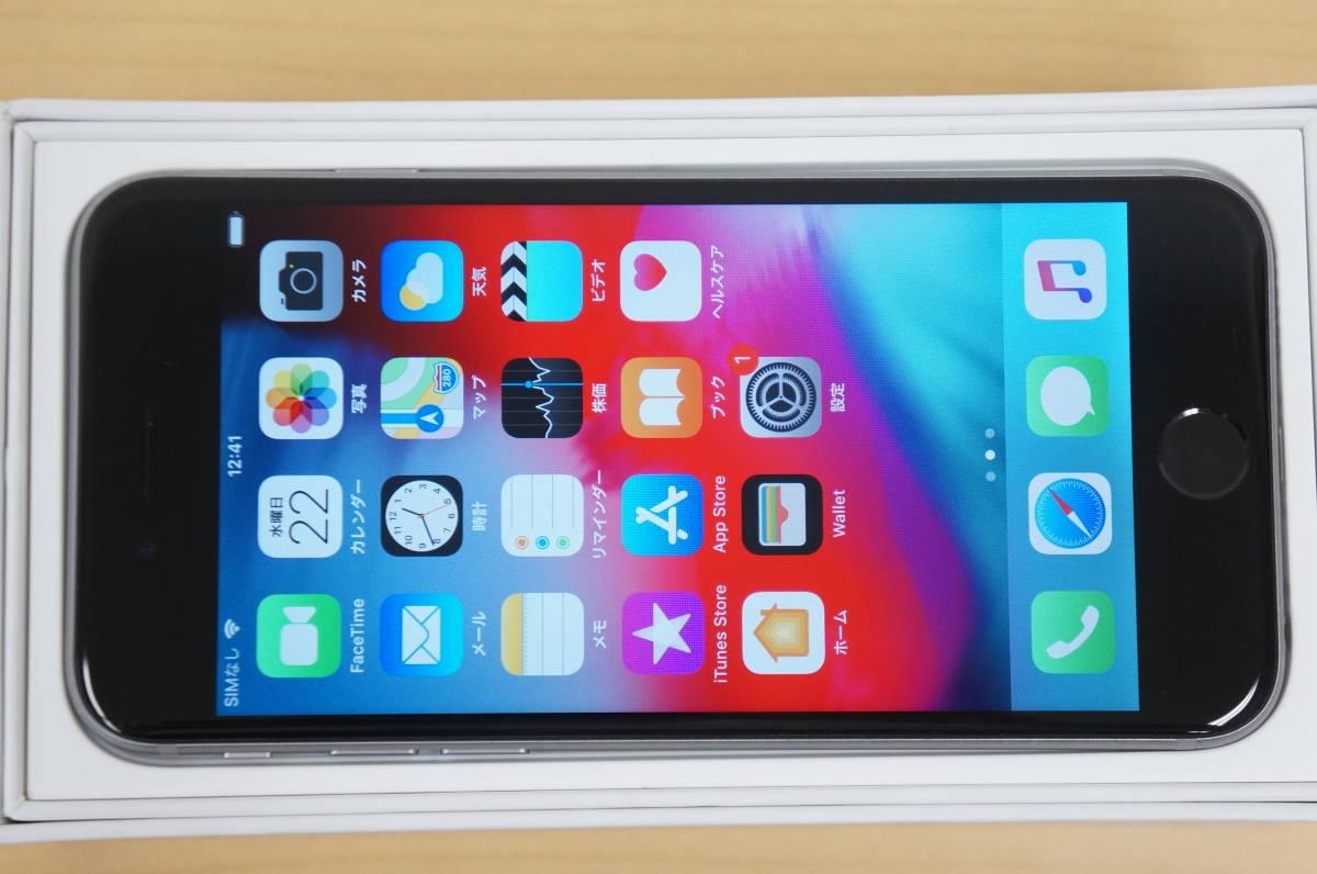 Apple iPhone6s スペースグレイ16GB■Softbank ソフトバンク / バッテリ84% (Model A1688) MKQJ2J/A_画像8
