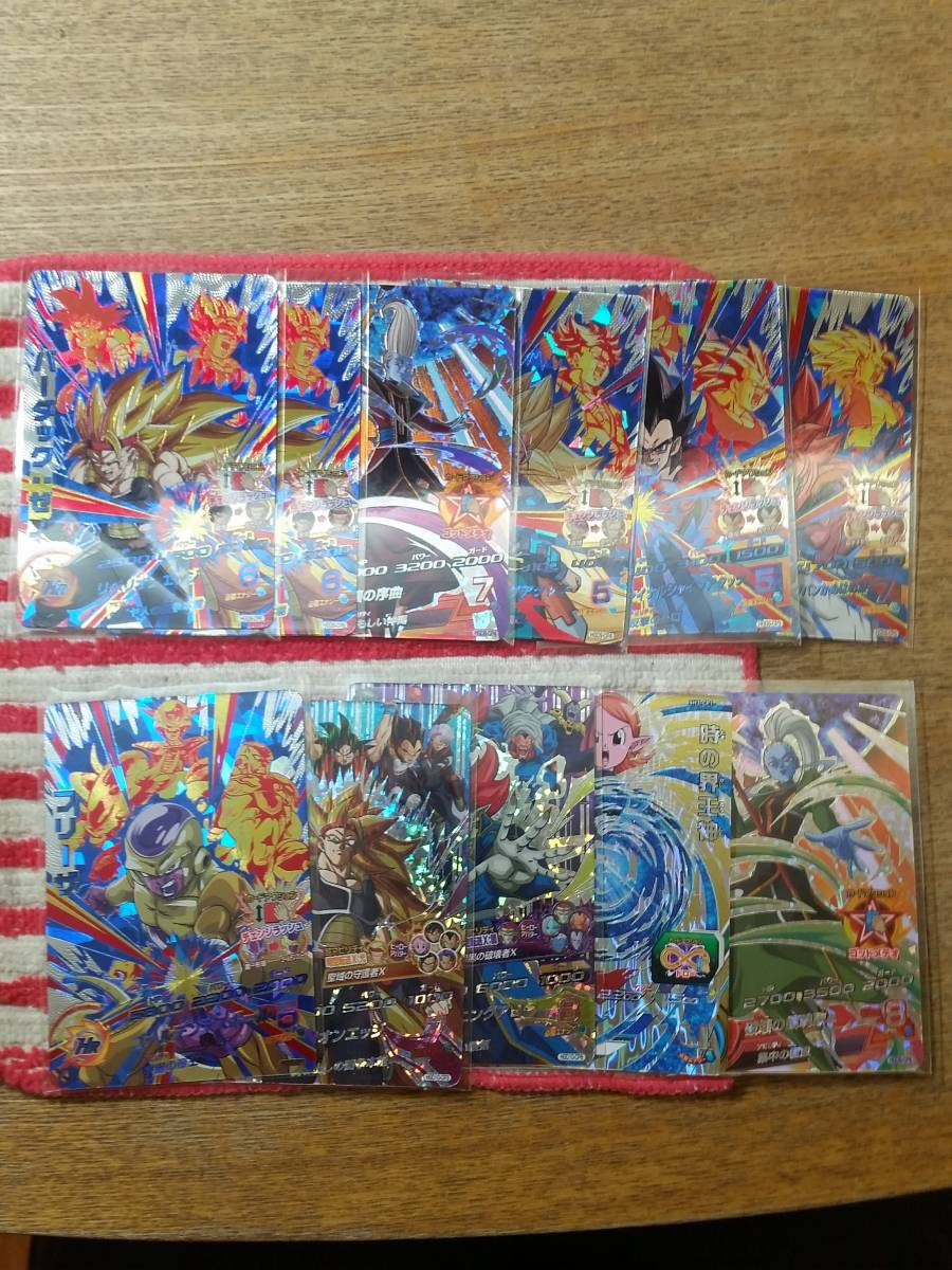 ドラゴンボールヒーローズ CP 100枚セット URブルマ含む_画像5