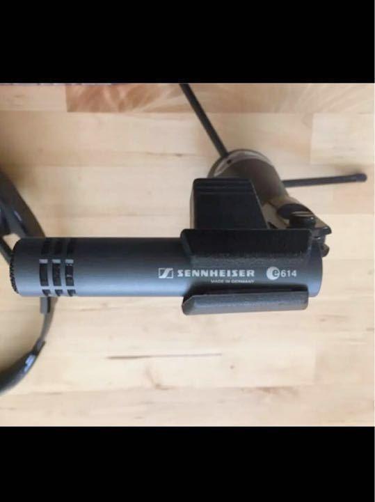 SENNHEISER ゼンハイザー e614 コンデンサーマイク マイクスタンド付き