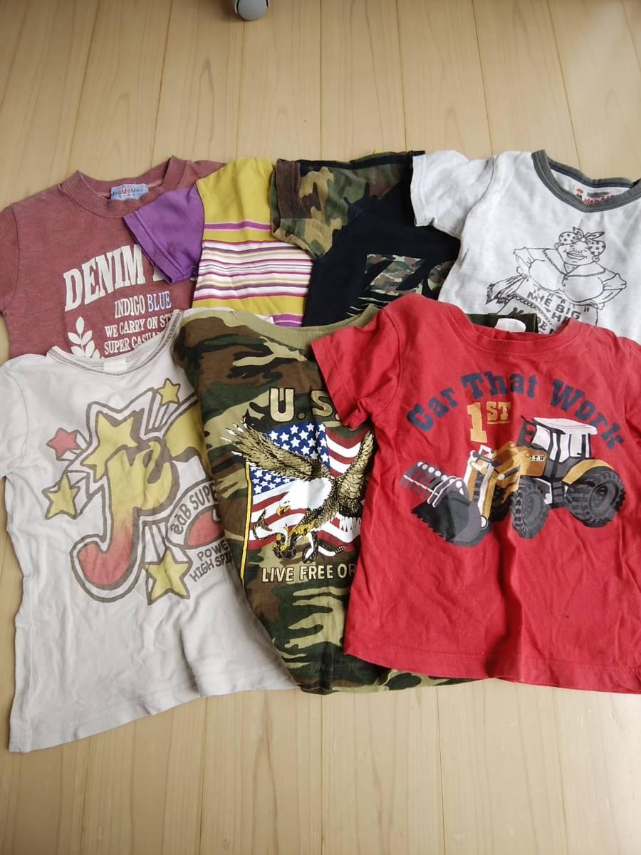 10e844be0828e 子供服まとめセット売り100サイズ 半袖短パンノースリーブ 男の子 画像4